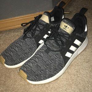 Adidas Xplorer Core black, white & gum shoes